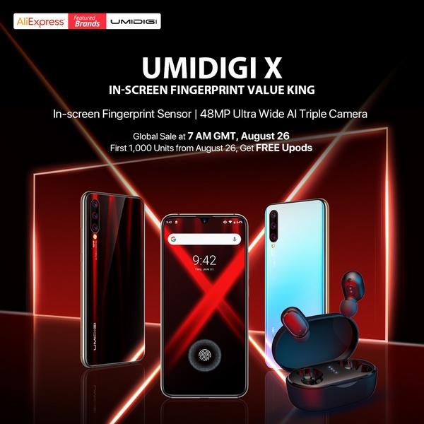 UMIDIGI X release
