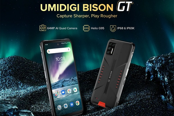 UMiDigis most powerful rugged phone, the UMiDigi Bison GT is available for only $239.99