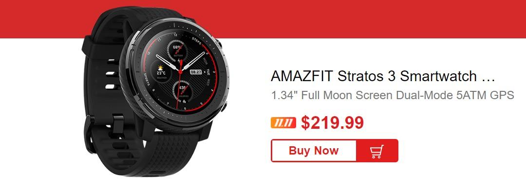 Huami Amazfit Stratos 3