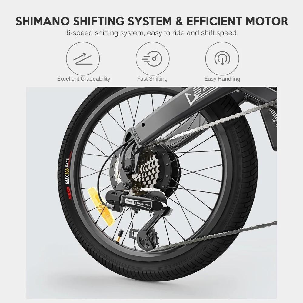 Xiaomi HIMO C20 - Shimano Shifting System