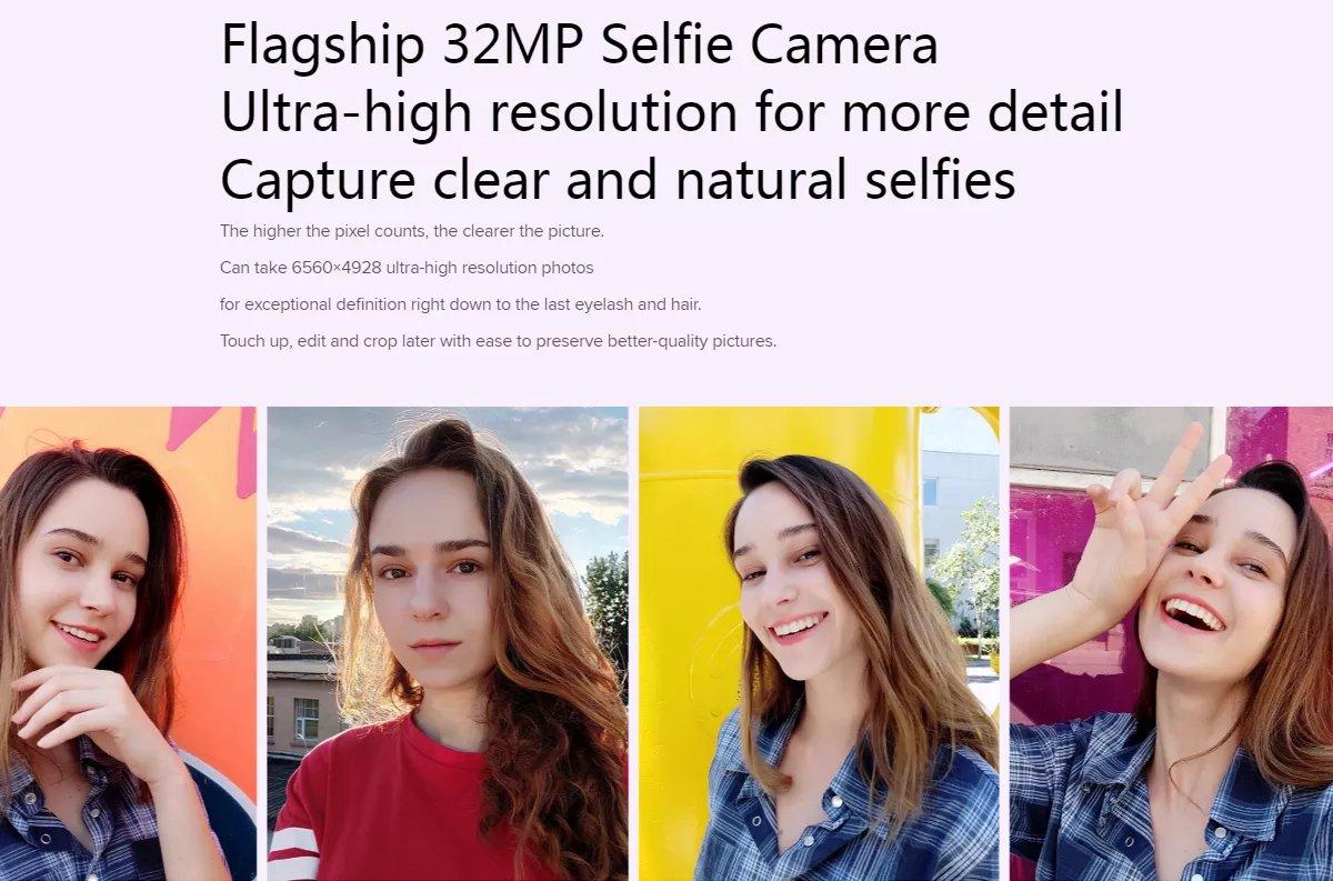 Mi 9 Lite - 32MP selfie camera
