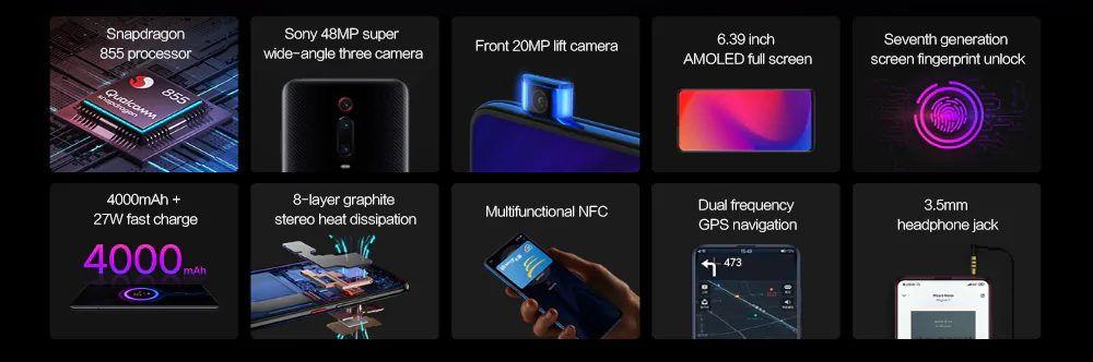 Xiaomi Mi 9T Pro specs