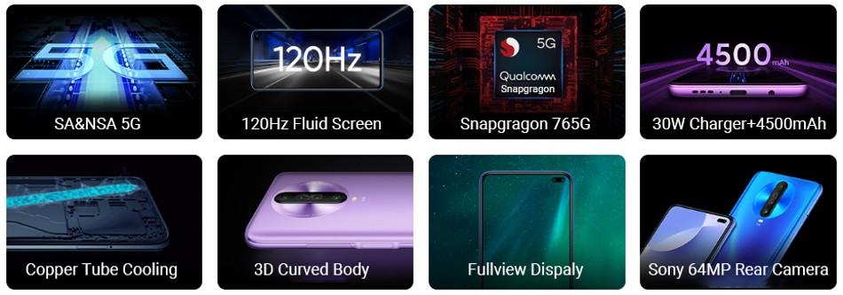 Xiaomi Redmi K30 - tulajdonságok