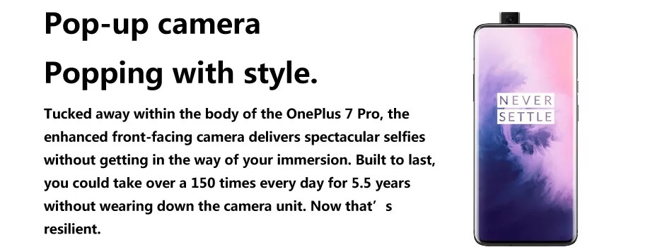 OnePlus 7 Pro - Front camera