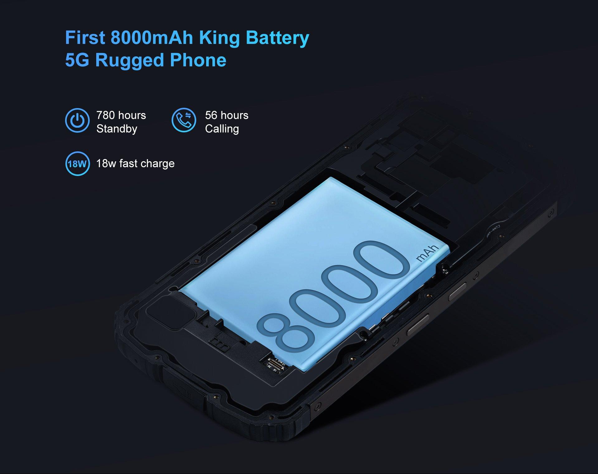 Oukitel WP10 - Battery