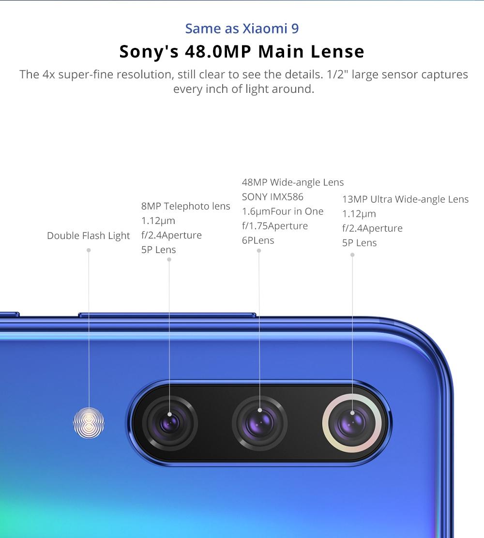 Xiaomi Mi 9 SE camera