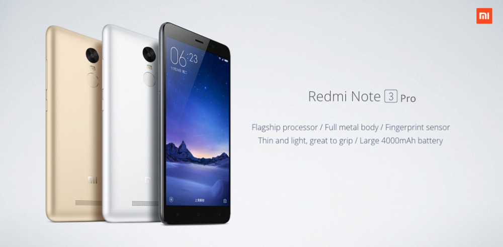 Xiaomi Redmi Note 3 Pro - 2GB 16GB - Prices, Deals, Specifications