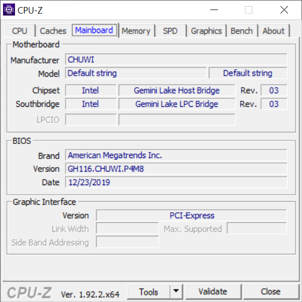 Chuwi HeroBook Pro - Mainboard