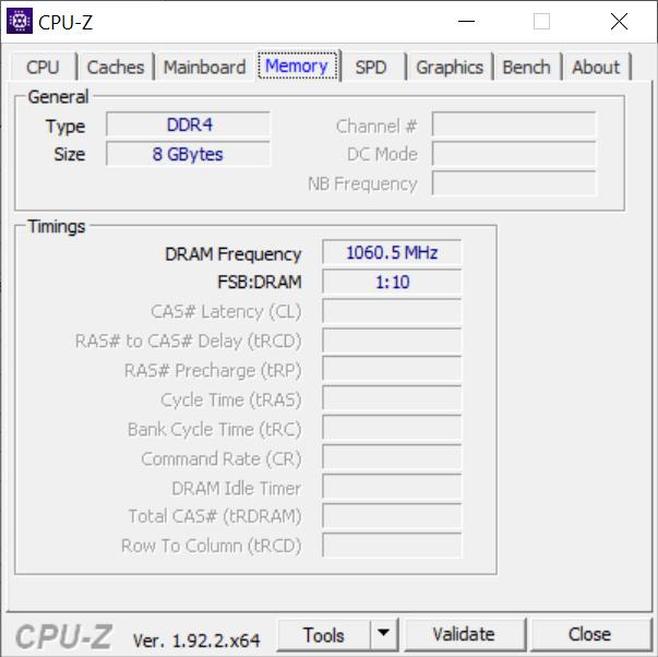 Chuwi HeroBook Pro - 8 GB DDR4 memory