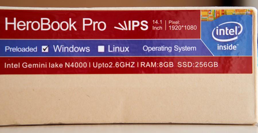 Chuwi HeroBook Pro - Box 2