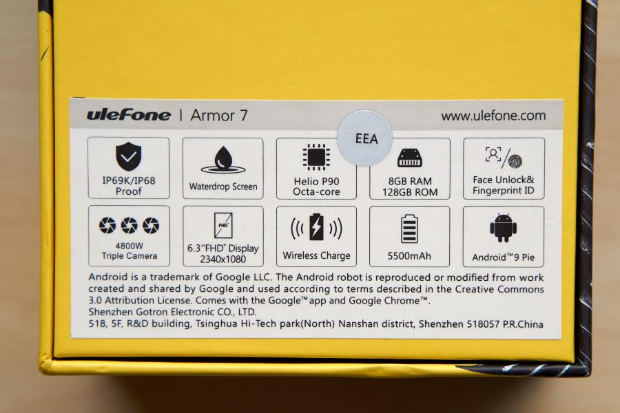 Ulefone Armor 7 - Box 2