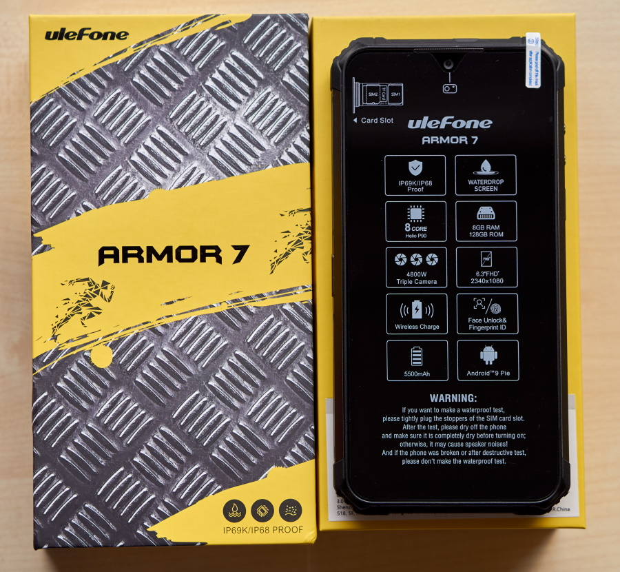 Ulefone Armor 7 - Front